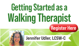 Getting Started as a Walking Therapist