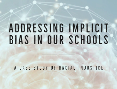 Link to blog Addressing Implicit Bias in our Schools